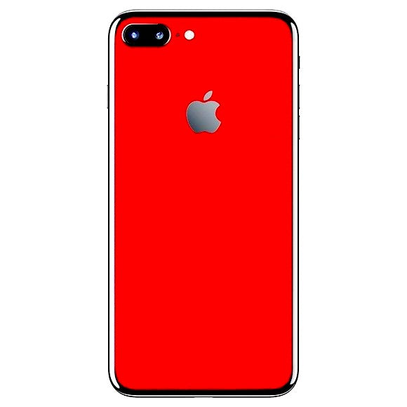 iPhone 7 Plus ALCANTARA Red Skin