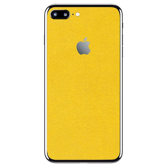 iPhone 7 Plus ALCANTARA Yellow Skin