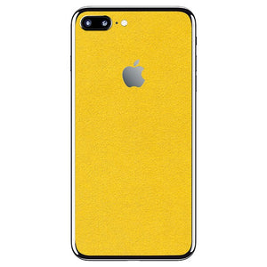 iPhone 7 Plus ALCANTARA Jaune Peau