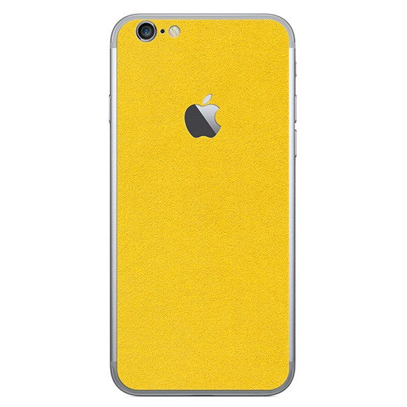 iPhone 6S Plus ALCANTARA Yellow Skin