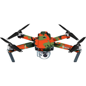 DJI Mavic Pro CAMO Green & Ngozi ya Orange