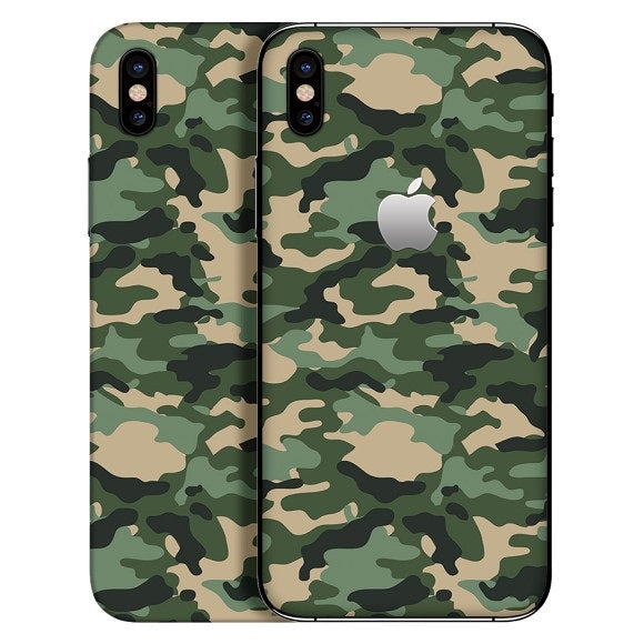 iPhone X CAMO Green Skin
