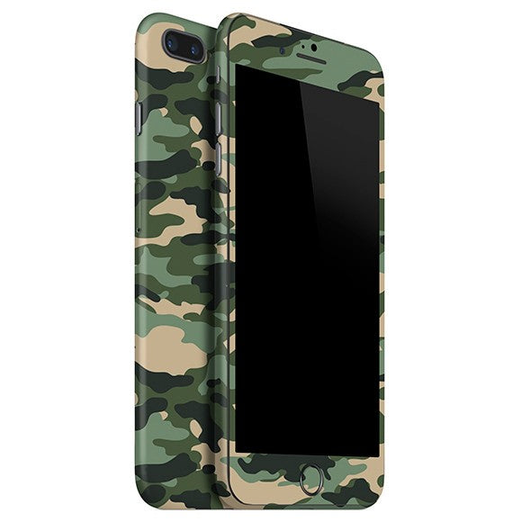 iPhone 8 Plus CAMO Groen vel