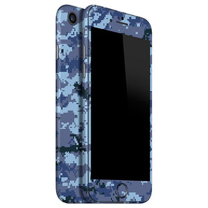 Skin 8 CAMO Pixel Blue para iPhone