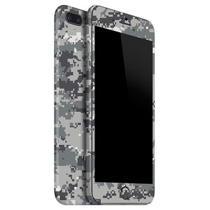 iPhone 7 Plus CAMO Pixel Gray Skin