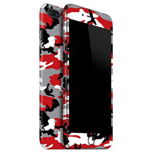 iPhone 8 Plus CAMO Piel roja