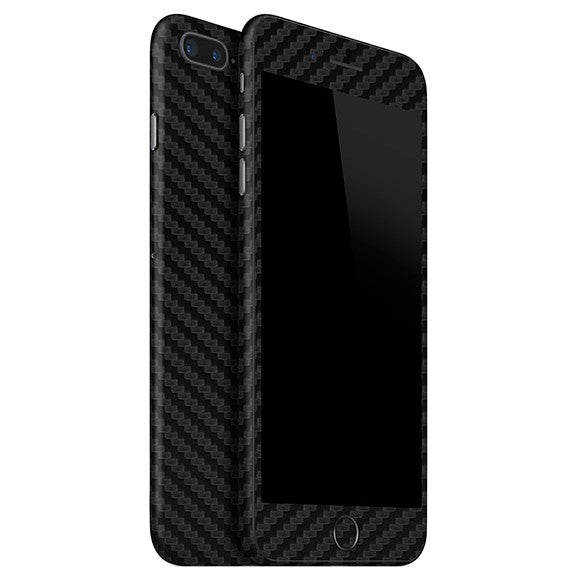 iPhone 7 Plus CARBON Black Skin