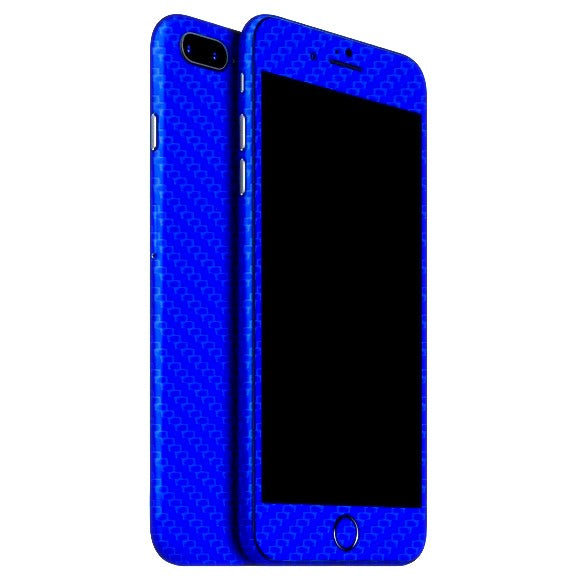 iPhone 7 Plus CARBON Blue Skin