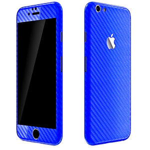 iPhone 6S Plus CARBON Blue Skin