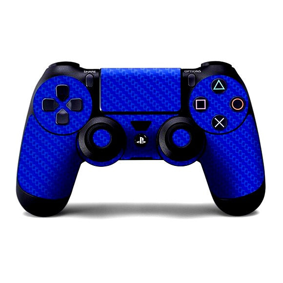 PlayStation 4 Controller CARBON Blue Skin