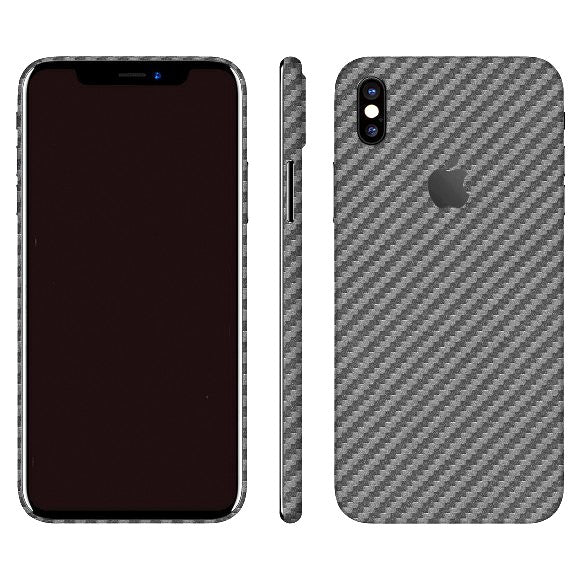 iPhone X CARBON Grey Skin