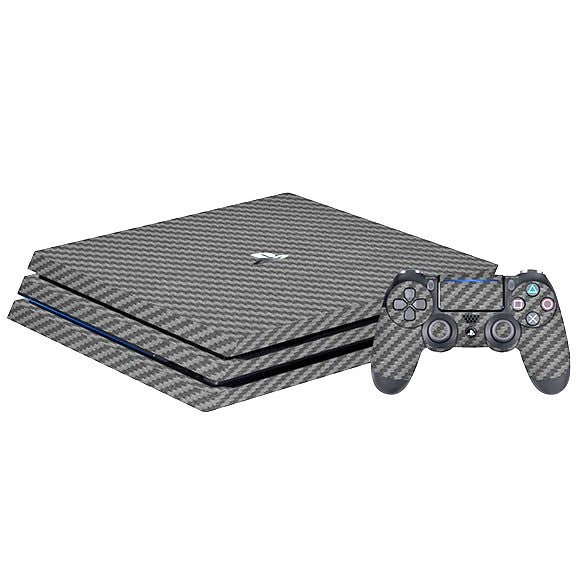 PlayStation 4 Slim CARBON Gray Skin