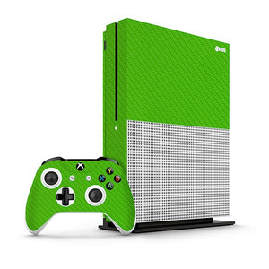 Xbox One S Carbon Green Skin