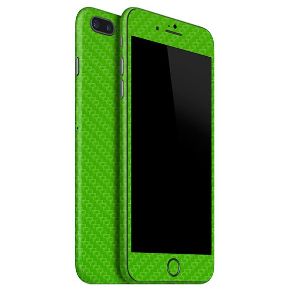 iPhone 7 Plus CARBON Green Skin