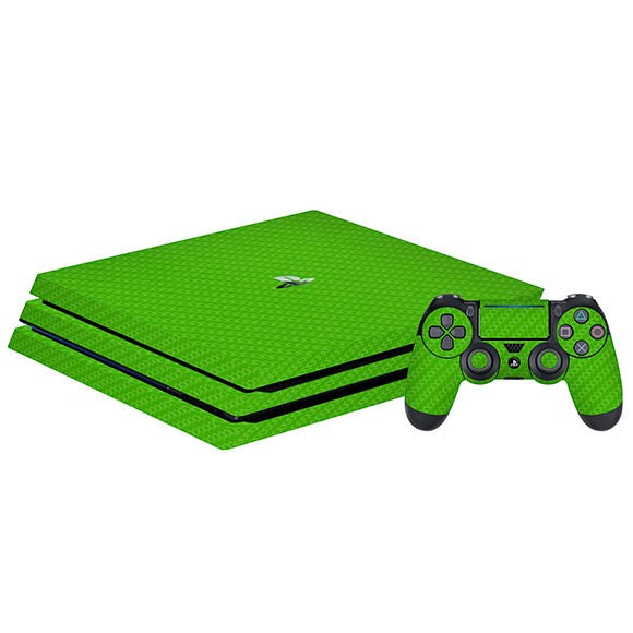 PlayStation 4 Pro CARBON Green Skin
