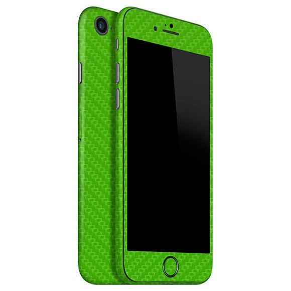 iPhone 8 CARBON Green Skin