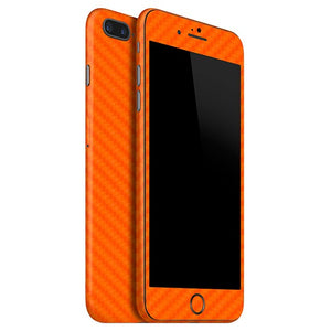iPhone 7 Plus CARBON Orange Skin