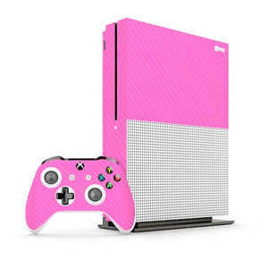Xbox One S CARBON Pink Skin