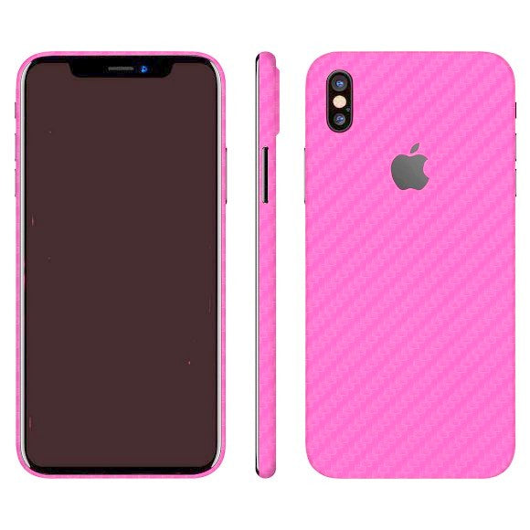 iPhone X CARBON Pink Skin