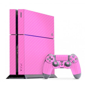 PlayStation 4 CARBON Pink Skin
