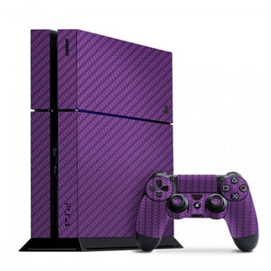 PlayStation 4 CARBON Purple Skin