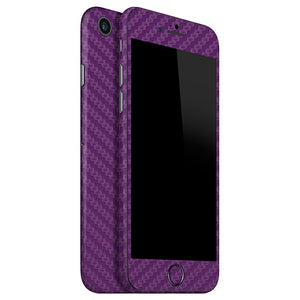Skin Morado para iPhone 7 CARBON