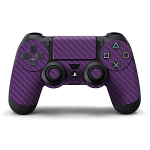 PlayStation 4 Controller CARBON Purple Skin