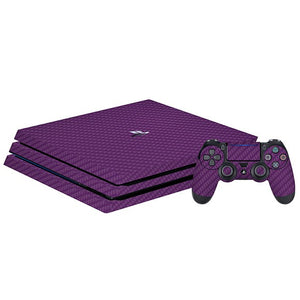 PlayStation 4 Pro CARBON Purple Skin