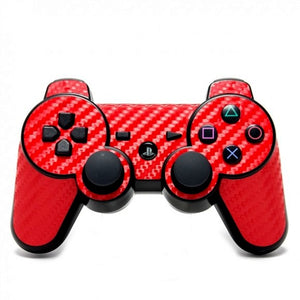 PlayStation 3 Controller CARBON Red Skin