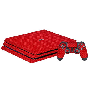 PlayStation 4 Pro CARBON Rooi Vel