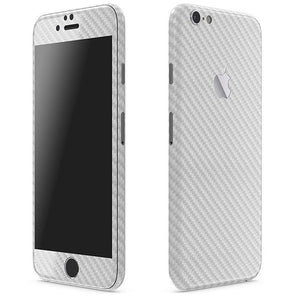 iPhone 6S Plus CARBON Silver Skin