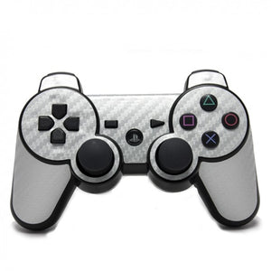 PlayStation 3 Controller CARBON Silver Skin