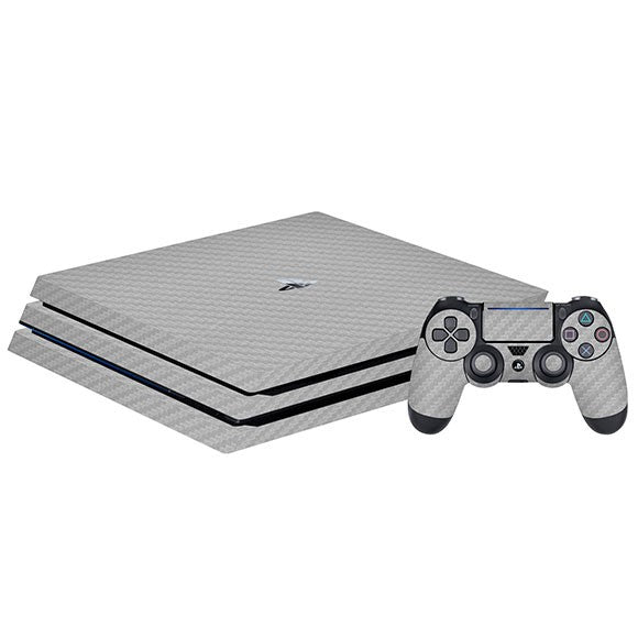 PlayStation 4 Slim CARBON Silver Skin