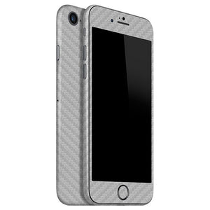 iPhone 8 CARBON Silver Skin
