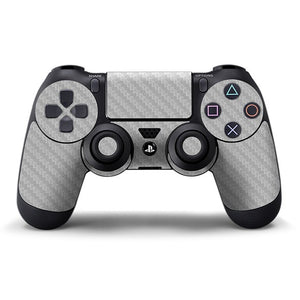 PlayStation 4 Controller CARBON Silver Skin