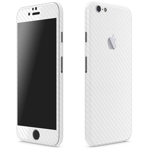 Skin Blanco para iPhone 6S Plus CARBON