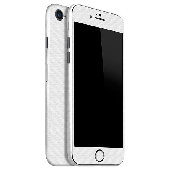 iPhone 8 CARBON White Skin