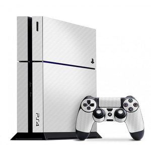 PlayStation 4 CARBON White Skin