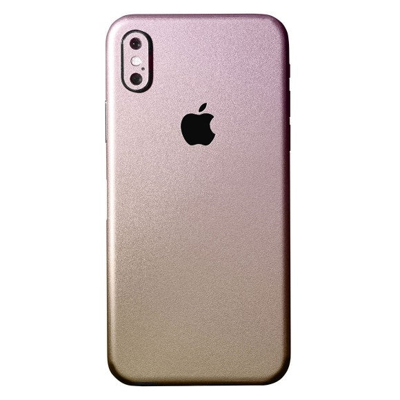 iPhone X CHAMELEON Gold Skin
