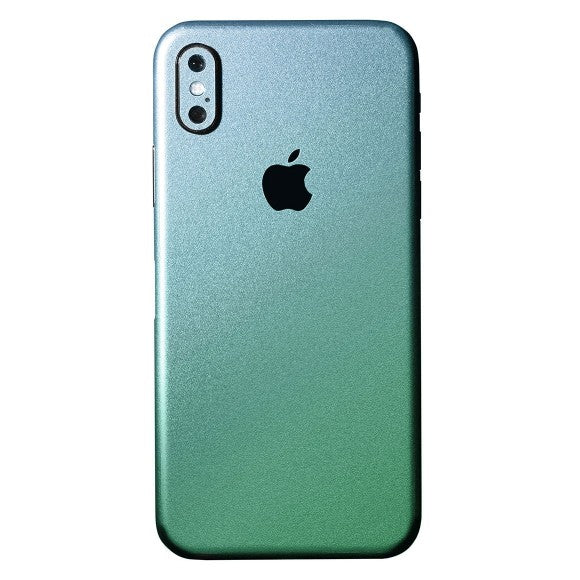 iPhone X CHAMELEON Green Skin