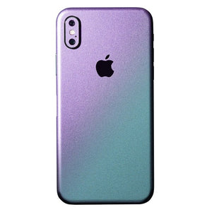 iPhone X CHAMELEON Purple Skin