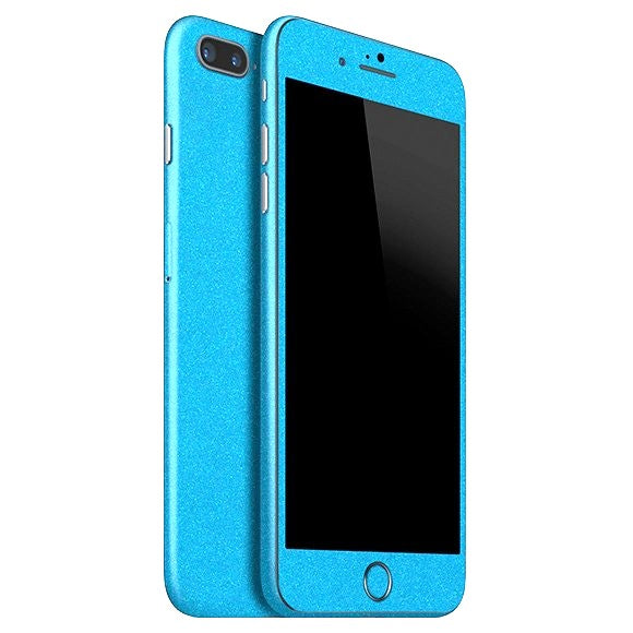 iPhone 8 Plus DIAMOND Blue Skin