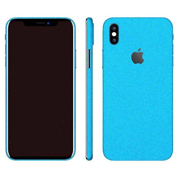 iPhone X DIAMOND Blue Skin