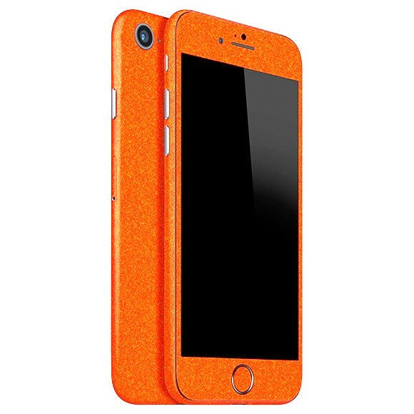 iPhone 7 DIAMOND Orange Skin