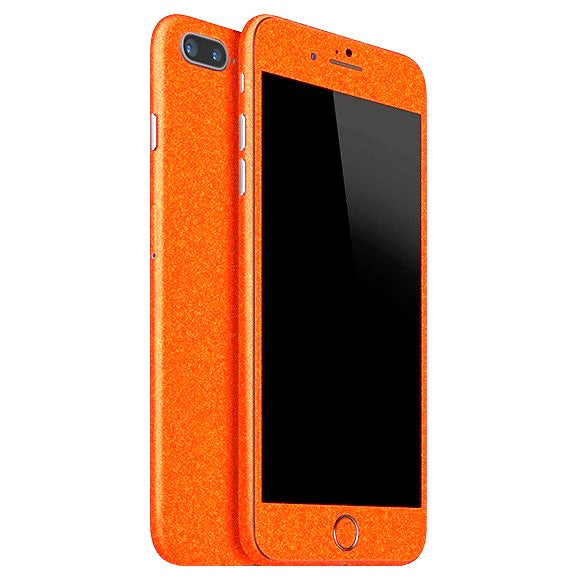 iPhone 8 Plus DIAMOND Orange Skin