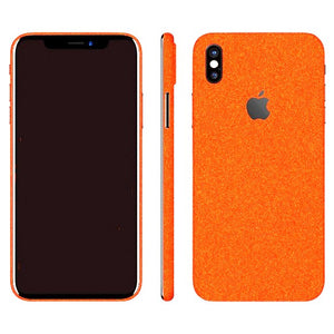iPhone X DIAMOND Orange Skin