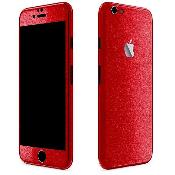iPhone 6S Plus DIAMOND Red Skin