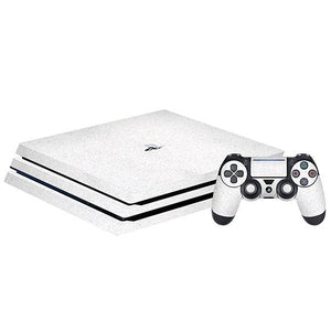 PlayStation 4 Pro DIAMOND ነጭ ቆዳ