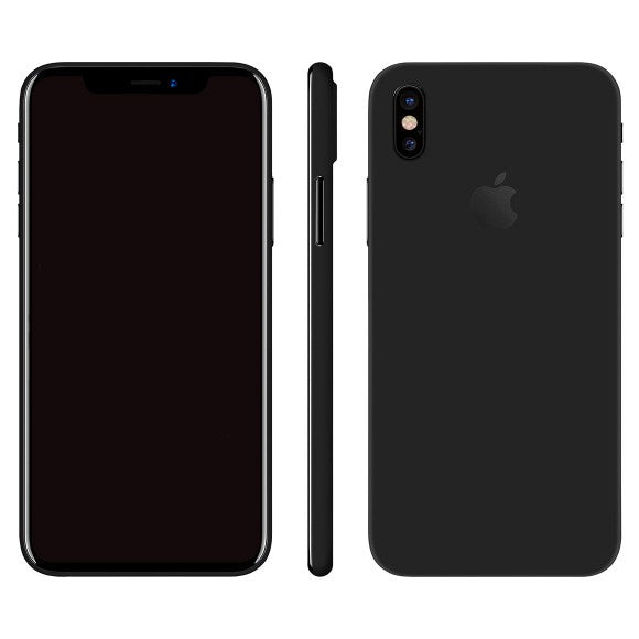 iPhone X GLOSS Black Skin