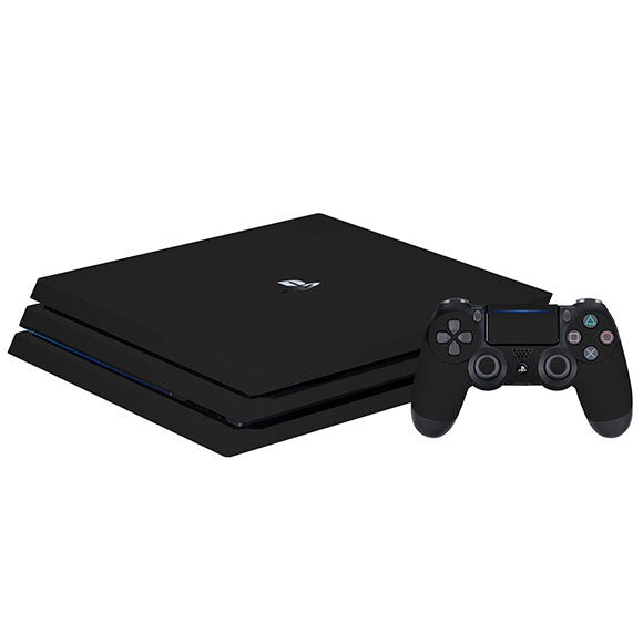 PlayStation 4 Slim GLOSS crna koža